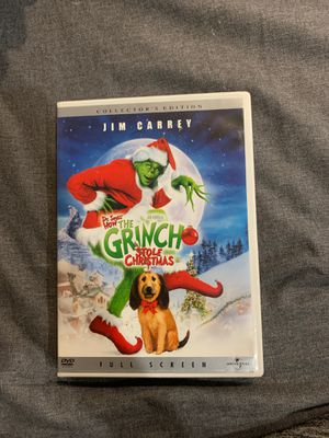 The grinch stole Christmas dvd for Sale in Fort Lauderdale, FL