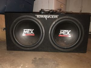 Subwoofers with amp set for Sale in Phoenix, AZ