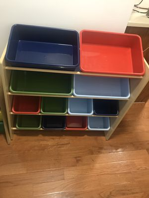 Kids toy shelf and organizer for Sale in Staten Island, NY
