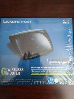 Linksys (Cisco) Wireless-G Broadband Router Model: WRT54G2 for Sale in Clarksville, TN