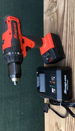 """Snap On 18 V 1/2"""" MonsterLithium Cordless Hammer Drill ((( $435 OBO ))) ❗️New Conditions ❗️ for Sale in Riverside, CA"""