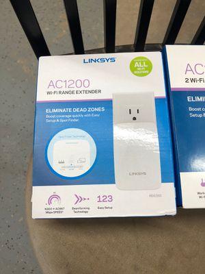 Linskys Ac1200 2 WiFi Range extenders for Sale in Houston, TX