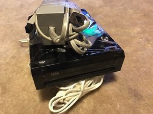 Nintendo wii black with two controllers for Sale in Manassas, VA
