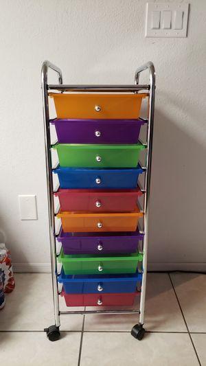10 drawer rolling craft storage for Sale in Phoenix, AZ