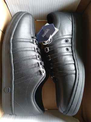Men's Size 9 All black Classic K-swiss Shoes for Sale in Fresno, CA