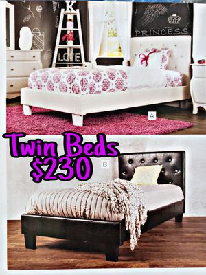 NEW💥TWIN BEDS💥MATTRESS INCLUDED💥IN STOCK💥 for Sale in Bellflower, CA
