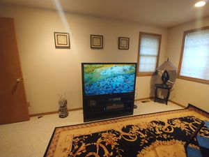 """54"""" TV and stand for Sale in Bothell, WA"""