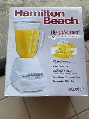 Blender with Glass jar - 10 speed for Sale in Alhambra, CA