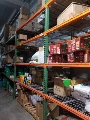 Shelving racks phone accessories show cases gun safe rolling ladder slat walls hooks for Sale in Plantation, FL