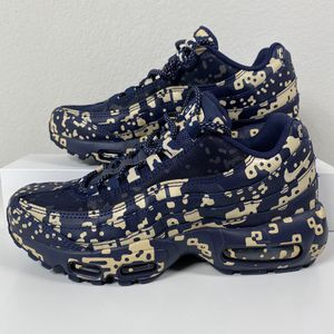 NIKE CAV EMPT X AIR MAX 95 BLACKENED BLUE MEN'S SHOES SIZE 5.5 WOMEN'S 7 NEW for Sale in Lewisville, TX