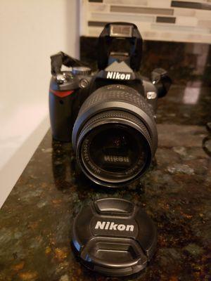 Nikon D60 digital camera, DX Lens, tripod for Sale in Tampa, FL