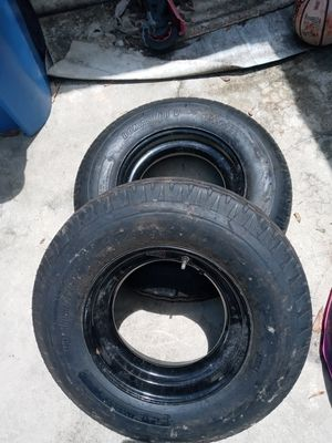 2 brand new mobile home tire and wheels for Sale in Seffner, FL