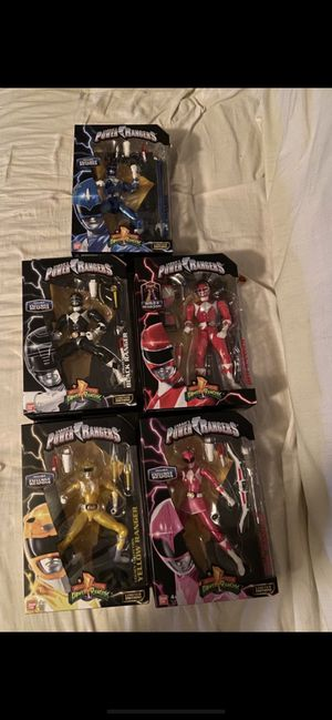 Power Rangers Legacy (Set of 5) for Sale in Fountain Valley, CA