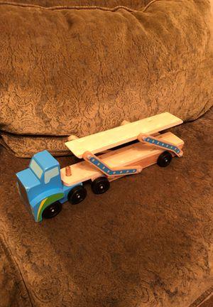 Melissa and Doug classic toy mega race car carrier for Sale in Mesa, AZ