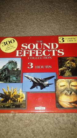 Sound Effects Collection on 3 cds for Sale in Orlando,  FL