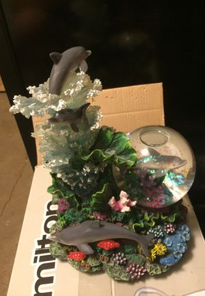 Under water Sea Dolphin Coral Reef Music Box for Sale in Harrisburg, NC