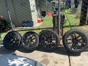 Rims and brand new tires for Sale in Reedley, CA