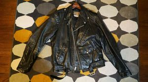 Vintage Sears leather motorcycle jacket for Sale in Hazard, CA