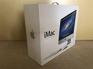 2011 & Earlier Apple Mac iMac 21.5 inch retail shipping box for Sale in Tempe, AZ