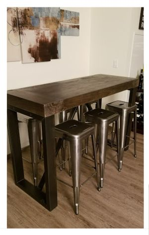 Bar Height Table & Stools for Sale in Portland, OR