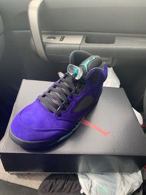 Jordan 5 alternate grape for Sale in Houston, TX