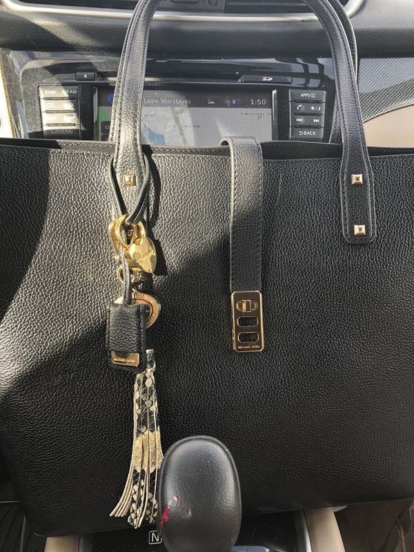 Brand New Michael Kors Black Leather Bag