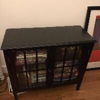 Sideboard with Glass Doors for Sale in Brooklyn, NY