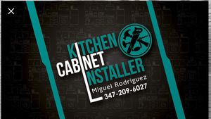 Kitchen cabinet installer for Sale in Queens, NY