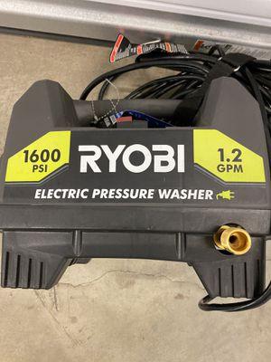 RYOBI ELECTRIC PRESSURE WASHER for Sale in Hapeville, GA