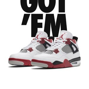 Jordan 4 Fire Red for Sale in Silver Spring, MD