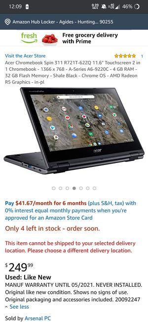 Chromebook ACER BRAND NEW for Sale in Lynwood, CA