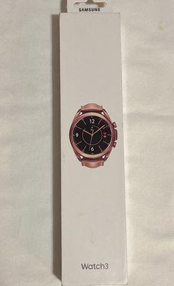 BRAND NEW! Samsung SM-R850 Galaxy Watch3 41mm Bluetooth In Box Mystic Bronze for Sale in Lynwood,  CA