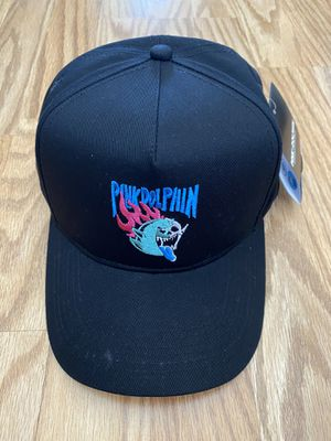 NEW PINK DOLPHIN SKELETON GHOST SNAPBACK HAT, BLACK/PINK for Sale in Torrance, CA