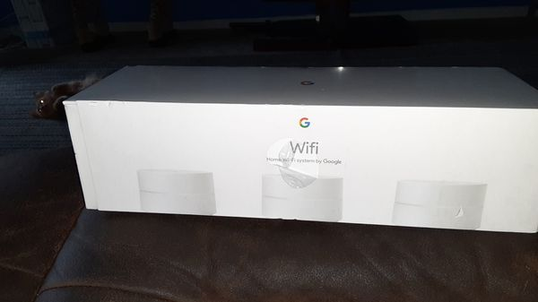 Google wifi 3 wifi points AC1200 routers. Model No.1304