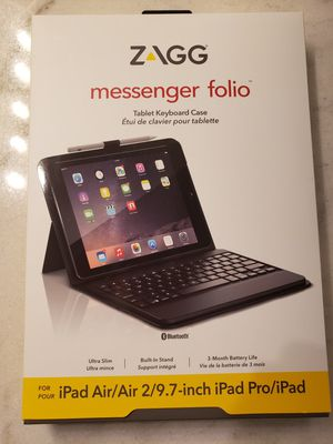 Messenger Folio Tablet Keyboard Case for Sale in Millington, TN
