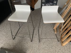 "set of 2 stools they are 24"" tall at the seating area. for Sale in VA, US"