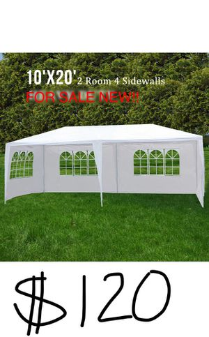 New 10x20 Canopy party Tent Gazebo pavilion Fully enclosed lona carpa canopi for Sale in Gardena, CA