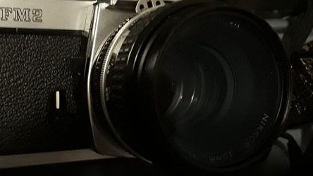 NIKON FM2 Film Camera for Sale in Arlington,  WA