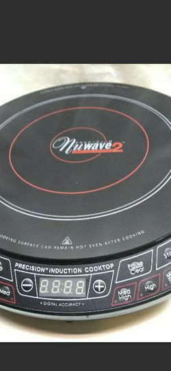 Countertop Precision Nuwave 2 Portable Heat Induction One Burner Cooktop Black for Sale in Cleveland,  OH