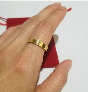 Cartier Love skinny ring size 6-9 4mm for Sale in Austin, TX