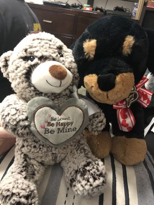 Valentine's Day kids stuffed animals for Sale in Los Angeles, CA