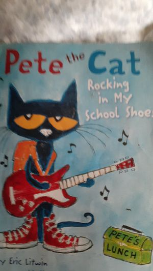 Pete the cat rocking in my school shoes for Sale in St. Louis, MO