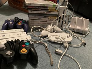 Nintendo Wii and original GameCube Controllers with games and other accessories for Sale in Cortlandt, NY