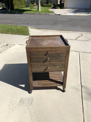 Vintage wooden desk/table/drawer for Sale in Los Angeles, CA