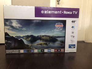 40 inch 4K Element Roku Smart Tv for Sale in San Diego, CA