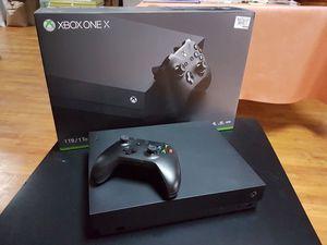 Xbox one x for Sale in Cranston, RI