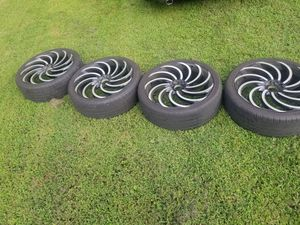 22in rims for Sale in Crewe, VA