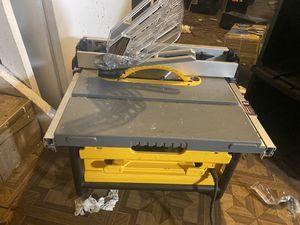 DDEWALT DWE7480 10 in. Compact Job Site Table Saw for Sale in Warren, MI