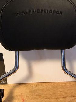 Harley Davidson Backrest & Sissybar for Sale in McMinnville,  OR