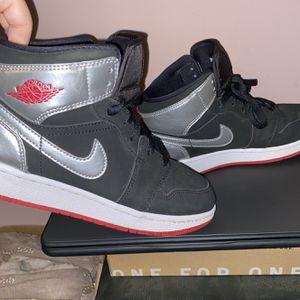 Nike Air Jordan 1s black red and metallic for Sale in Marietta, GA